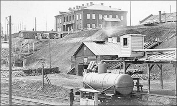 нефтяной резервуар дореволюционное фото специальному