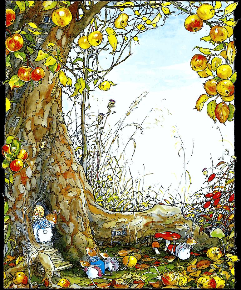 Осень в сказках картинки