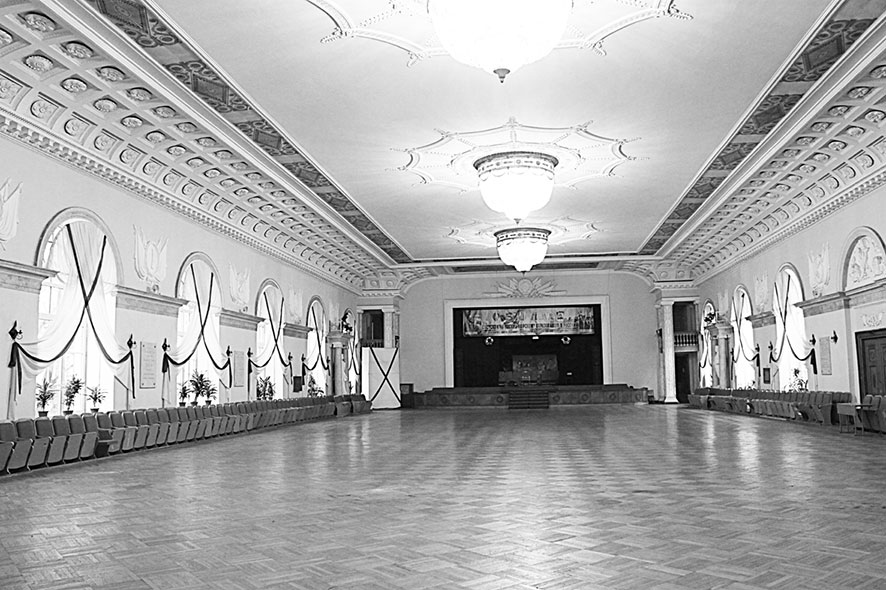 Зал с белой горкой картинки