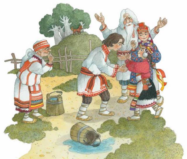 Мордовская народная сказка картинки