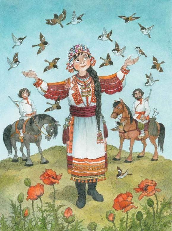 картинки из мордовских сказок