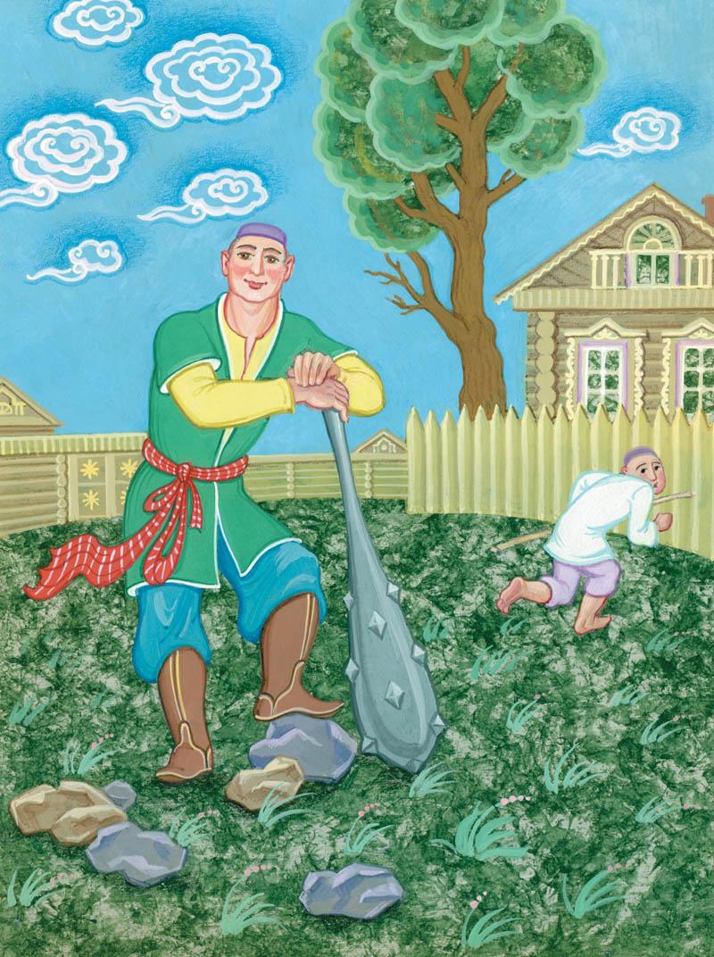 картинка татарская сказка дизайн