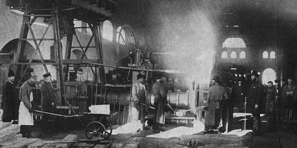 старинные фото рабочих демидовских заводов