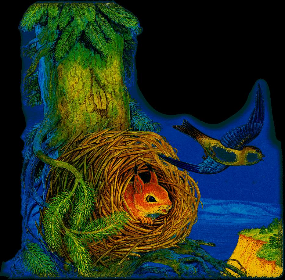 Лесные домишки картинки к рассказу