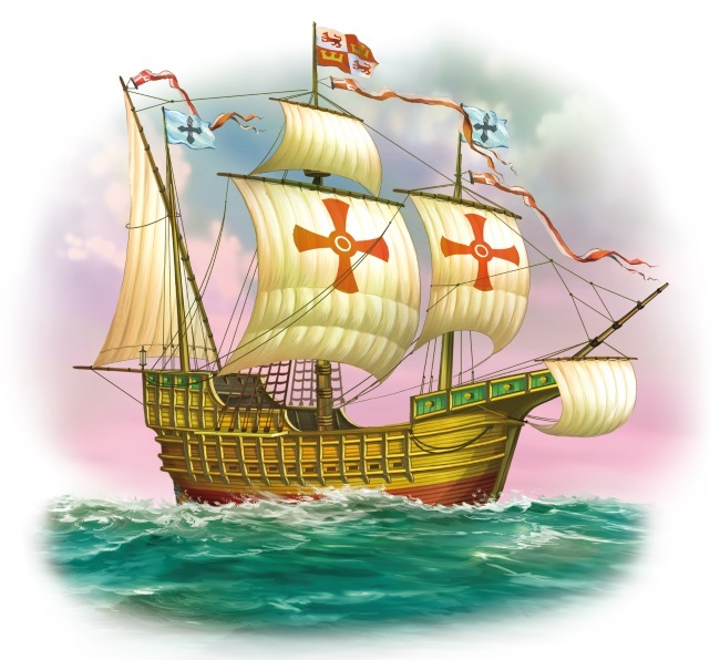 Корабли христофора колумба картинки