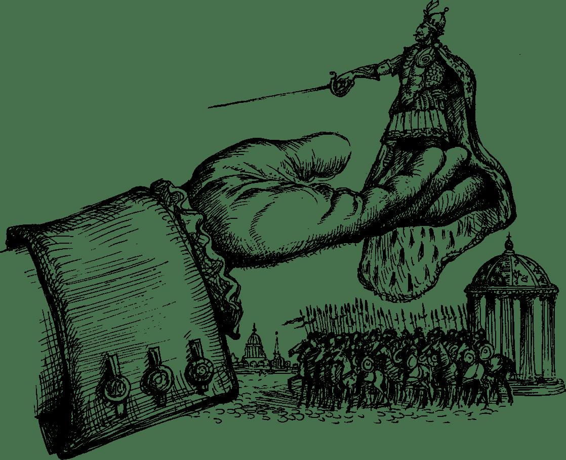 гулливер картинки для раскрашивания ренаты