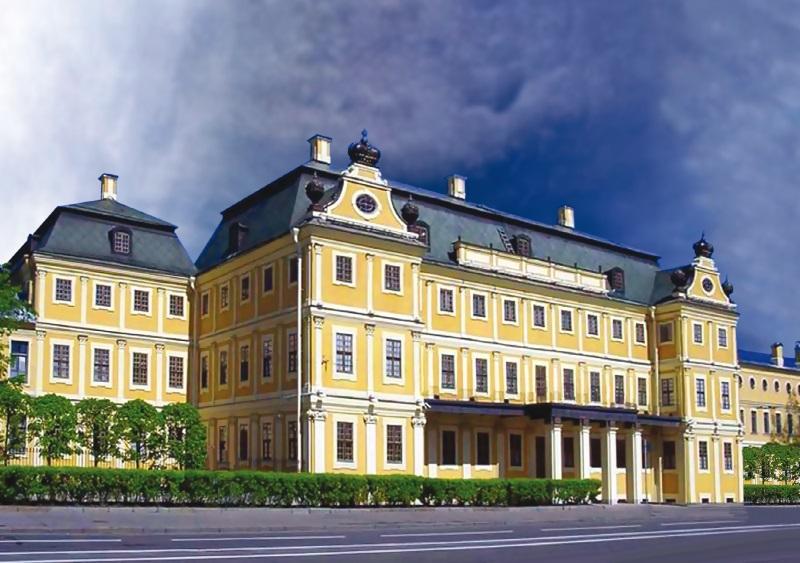 Меньшиков дворец фото