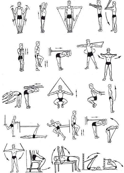 труд упражнения со жгутом с картинками обнаружили