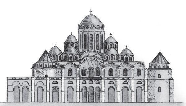 софийский собор картинки карандашом