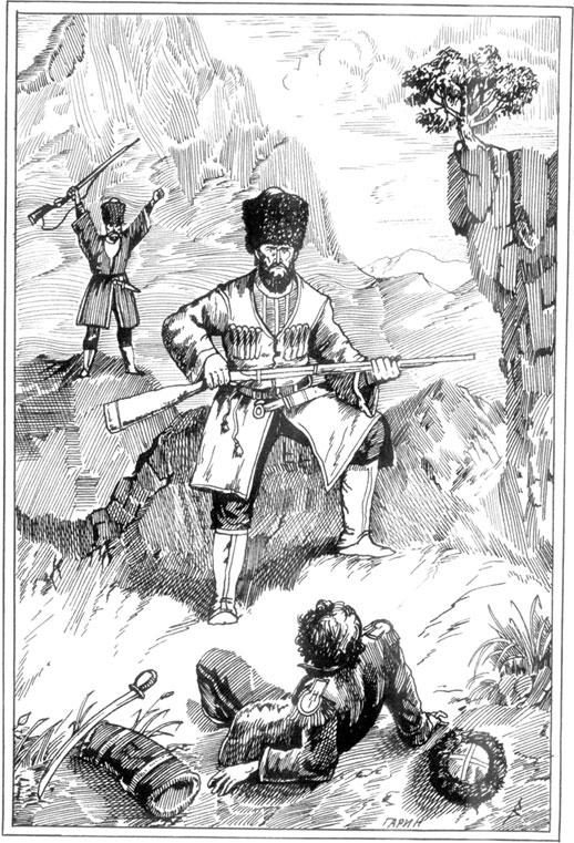 Картинки по рассказу кавказский пленник