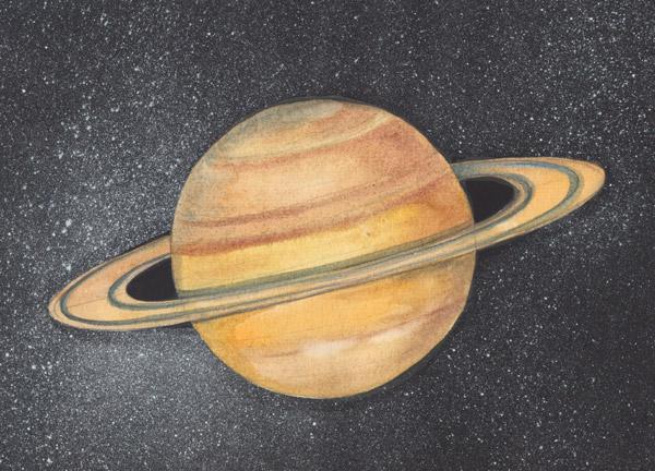 сатурн рисунок цветной очень хватает взрослому