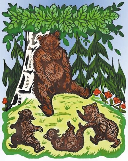 партнера сказка о медведихе с картинками золотоволосой девушки песчаном