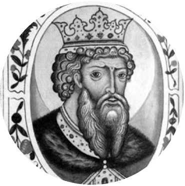 Картинка с портретом владимира великого