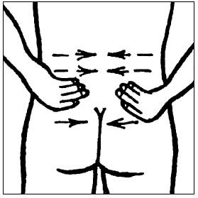 Массаж поясничного отдела при простатите лечебные китайские пластыри против простатита